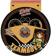 Motor. Color & stencil Teamboys