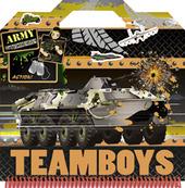 Army. Color & stickers Teamboys. Con adesivi