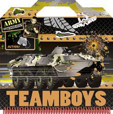 Army. Color & stickers Teamboys. Con adesivi.pdf