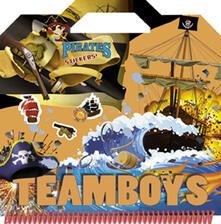 Daddyswing.es Pirates. Color & stickers Teamboys. Con adesivi Image