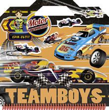 Capturtokyoedition.it Motor. Color & stickers Teamboys. Con adesivi Image