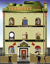 Military. Stickers House Teamboys. Con adesivi