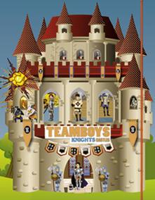 Rallydeicolliscaligeri.it Knights. Stickers House Teamboys. Con adesivi Image