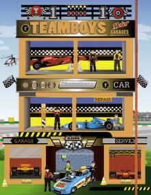 Promoartpalermo.it Motor. Stickers House Teamboys. Con adesivi Image