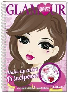 Make-up artist principesse. Ragazze glamour