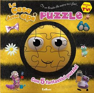 La casa delle api. Con 5 puzzle