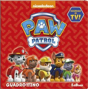 Quadrottino. Paw Patrol