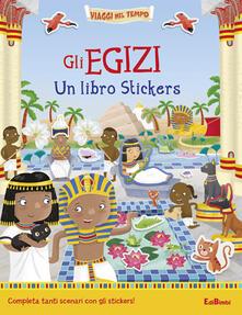 Camfeed.it Gli egizi. Un libro stickers Image