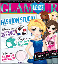 Ristorantezintonio.it Fashion Studio. Ragazze glamour. Con adesivi. Ediz. illustrata Image