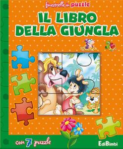 Il libro della giungla. Finestrelle in puzzle