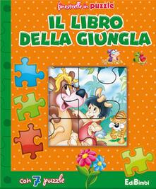 Promoartpalermo.it Il libro della giungla. Finestrelle in puzzle. Ediz. illustrata Image