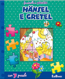Librisulrazzismo.it Hänsel e Gretel. Finestrelle in puzzle. Ediz. illustrata Image