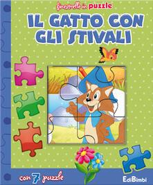 Antondemarirreguera.es Il gatto con gli stivali. Finestrelle in puzzle. Ediz. illustrata Image
