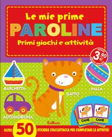 Camfeed.it Le mie prime paroline. I primissimi. Con stickers Image
