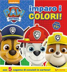 Imparo i colori! Con 5 sagome di cuccioli in cartone. Paw Patrol.pdf
