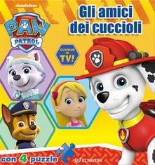 Listadelpopolo.it Gli amici dei cuccioli. 4 puzzle. Paw Patrol Image