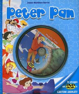 Libro Peter Pan. Con DVD James M. Barrie