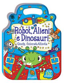 Osteriacasadimare.it Robot, alieni e dinosauri. ColorStickers Image