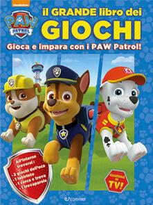 Il grande libro dei giochi. Paw Patrol. Ediz. a colori.pdf