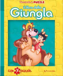 Amatigota.it Il libro della giungla. Finestrelle in puzzle. Ediz. a colori Image