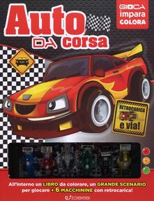 Steamcon.it L' auto da corsa. Ediz. a colori. Con 6 gadget Image