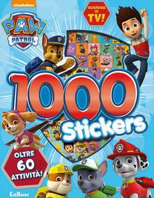 Winniearcher.com 1000 stickers. Paw Patrol. Con adesivi. Ediz. a colori Image