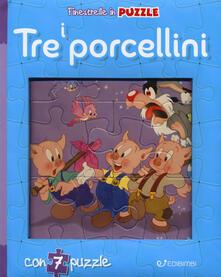 Museomemoriaeaccoglienza.it I tre porcellini. Finestrelle in puzzle. Ediz. a colori Image