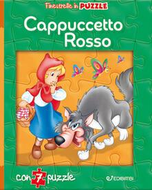 Camfeed.it Cappuccetto Rosso. Finestrelle in puzzle. Ediz. a colori Image