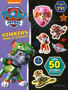 Ristorantezintonio.it Cuccioli al salvataggio! Paw Patrol stickers. Con adesivi. Ediz. a colori Image