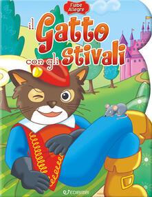 Il gatto con gli stivali - copertina