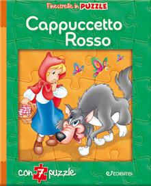 Cappuccetto Rosso. Finestrelle in puzzle - copertina