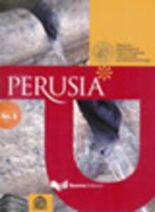 Perusia. Rivista del Dipartimento di culture comparate dell'Università per stranieri di Perugia. Nuova serie (2008). Vol. 1