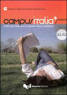 Winniearcher.com Campus Italia. Corso multimediale di italiano per le università. Vol. 1: Livello A1-A2. Image