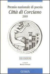 Libro Premio nazionale di poesia città di Corciano 2009. 22° edizione