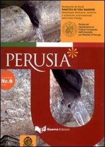 Perusia. Rivista del Dipartimento di culture comparate dell'Università per stranieri di Perugia. Nuova serie (2012). Vol. 8