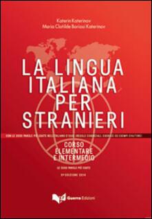 Winniearcher.com La lingua italiana per stranieri. Corso elementare e intermedio unico Image