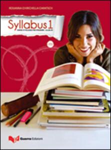 Syllabus 1. Corso d'italiano per stranieri. Livello B1. Con CD Audio