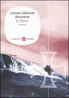 U-boot - Lothar-Günther Buccheim - copertina