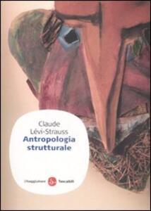 Antropologia strutturale - Claude Lévi-Strauss - copertina