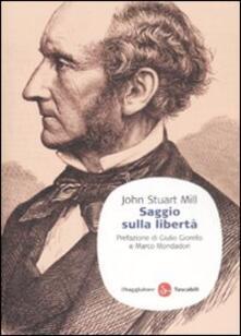 Saggio sulla libertà - John Stuart Mill - copertina
