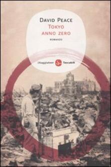Tokyo anno zero - David Peace - copertina