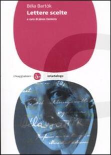 Lettere scelte - Béla Bartók - copertina