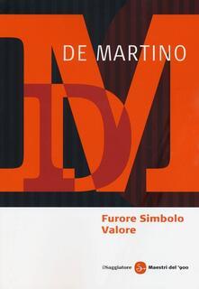 Furore Simbolo Valore - Ernesto De Martino - copertina