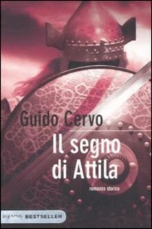 Il segno di Attila - Guido Cervo - copertina