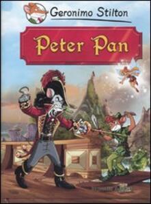Peter Pan di James Barrie - Geronimo Stilton - copertina