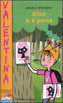 Alice si è persa - Angelo Petrosino - copertina