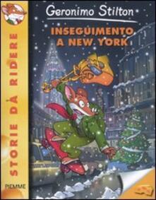Inseguimento a New York - Geronimo Stilton - copertina
