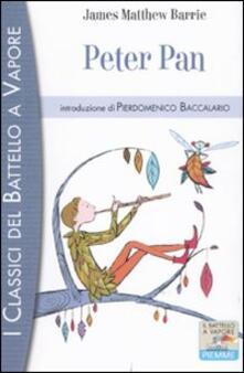 Peter Pan - James Matthew Barrie - copertina