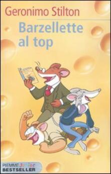 Barzellette al top - Geronimo Stilton - copertina