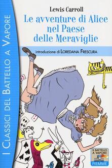 Le avventure di Alice nel paese delle meraviglie - Lewis Carroll - copertina